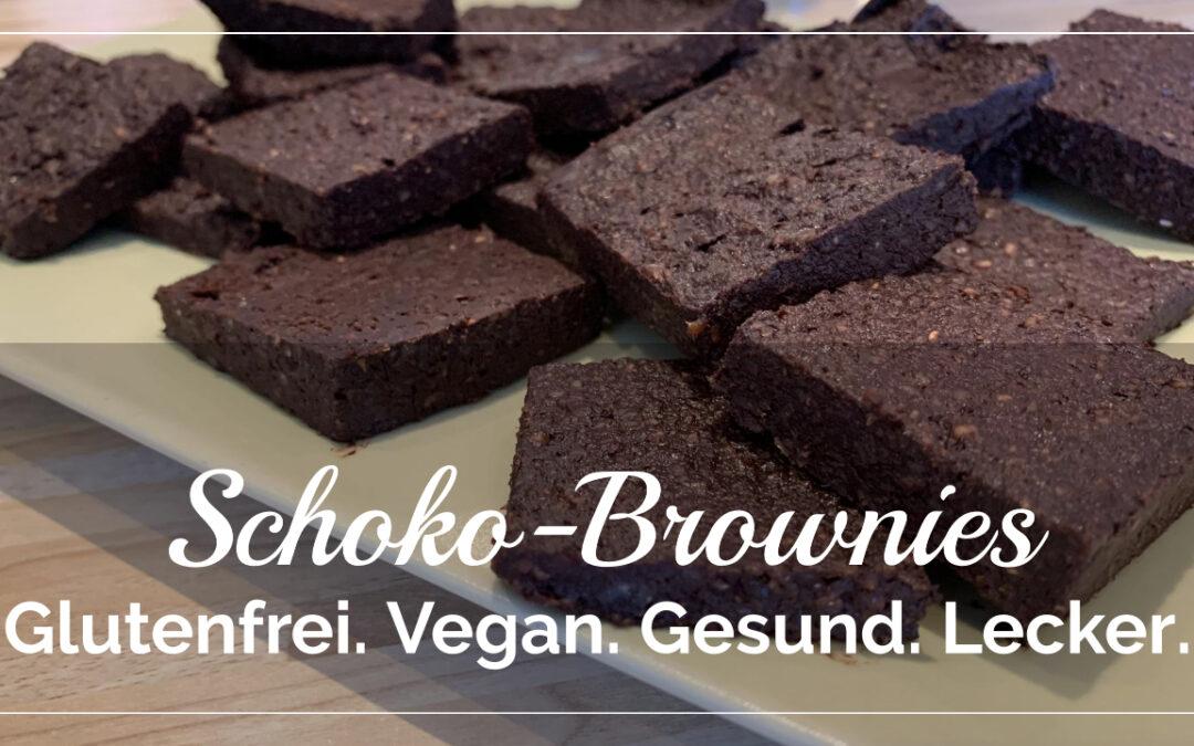 Gesunde Schoko-Brownies
